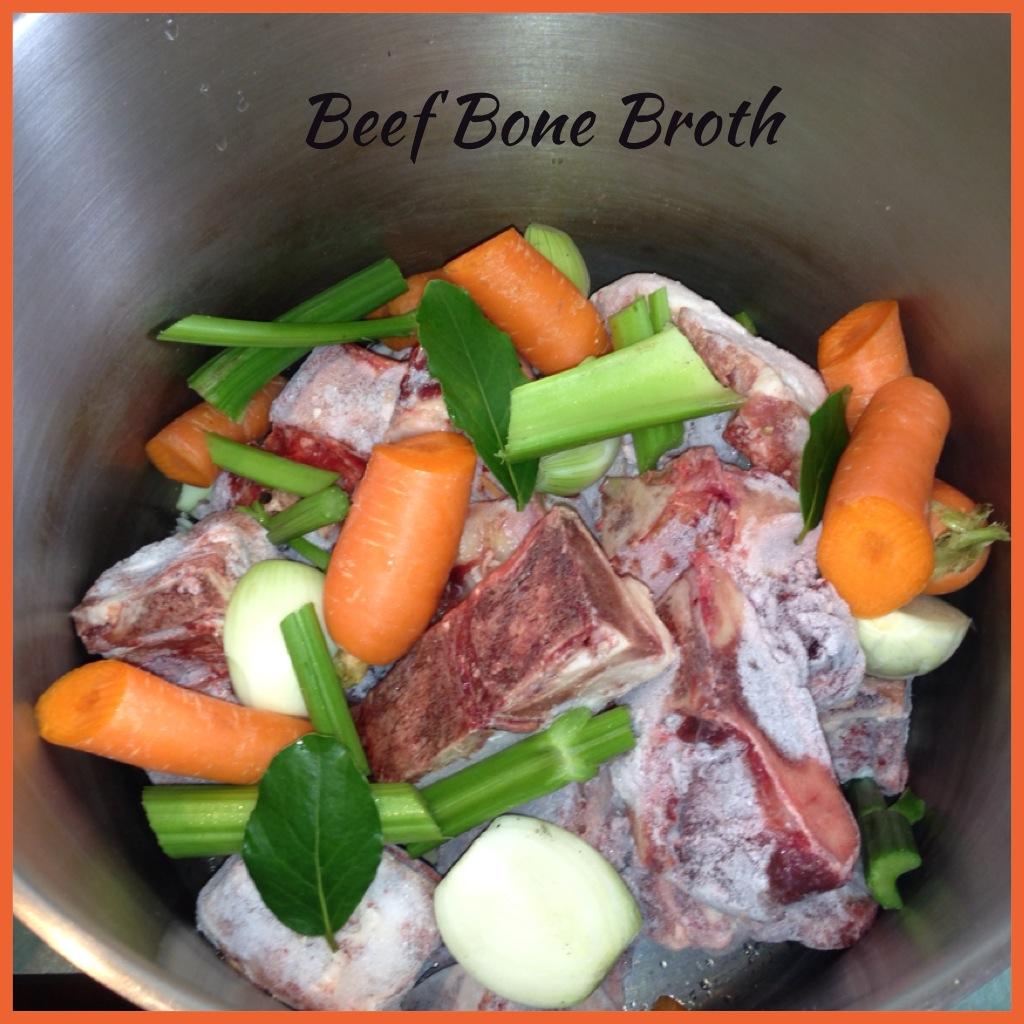 https how to make beef stock from beef marrow bones