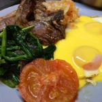 Lamb Chops, Eggs & Hollandaise