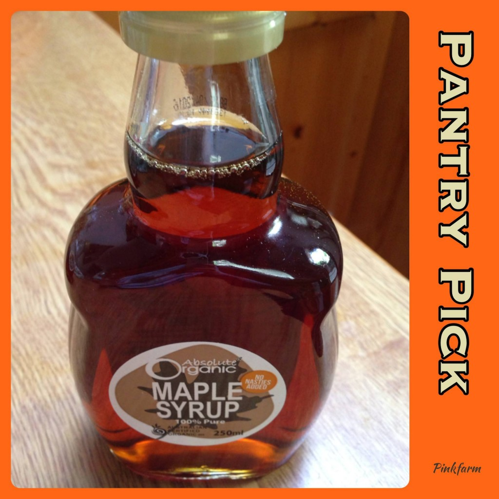 maple syrup pantry pick