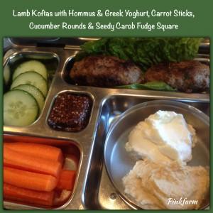 Featuring Lamb Koftas