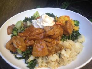 Chicken Curry & Cauli Rice