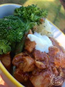 Pete Evans Butter Chicken