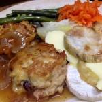 Chicken & Ham Rissoles