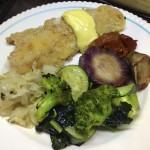 Fish & Green Veggies