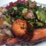 Sweet Potato & Pork Belly