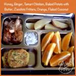 Featuring Honey Ginger Tamari Chicken